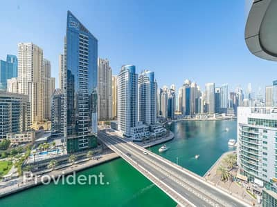 2 Bedroom Apartment for Rent in Dubai Marina, Dubai - Bright and Spacious | Marina View | Furnished