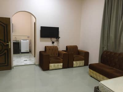 Studio for Rent in Zakher, Al Ain - Full Furnished Studio Apartment in Zakher