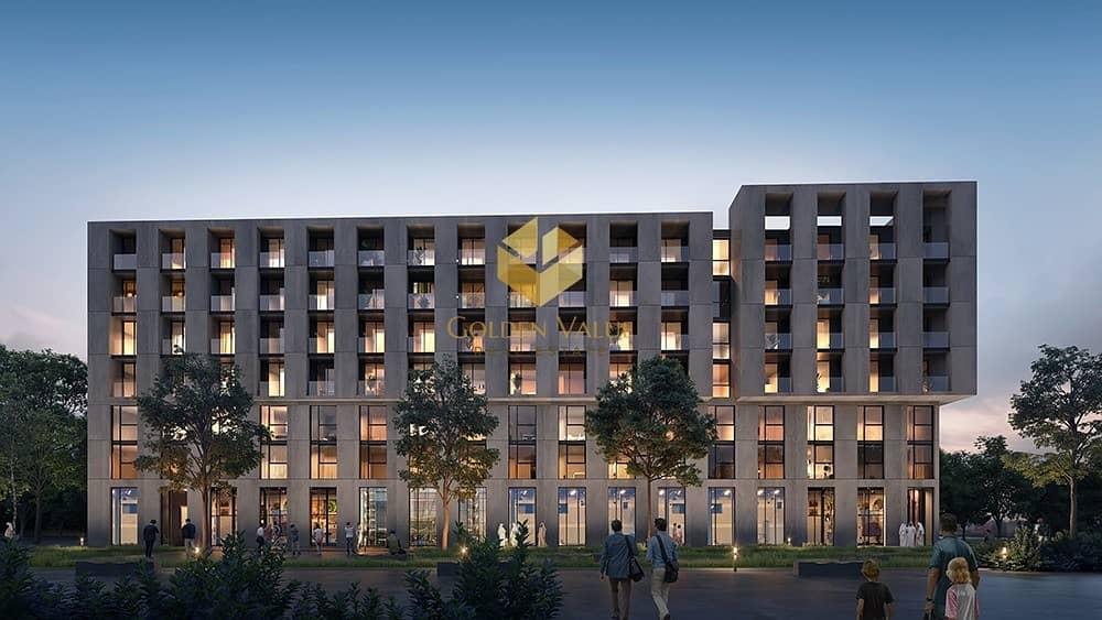 2 Own Smart 2 Bedroom Apartment In New Downtown Sharjah  Aljada