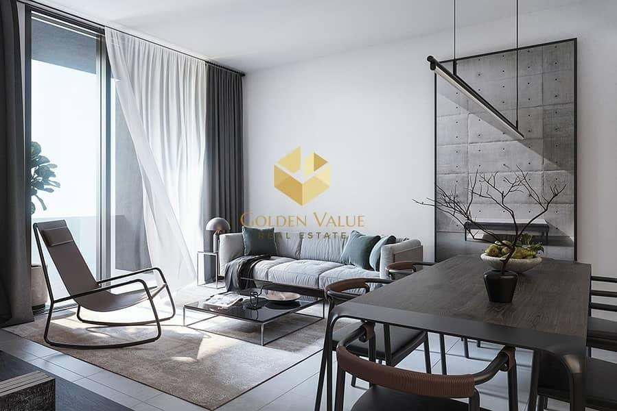 Own Smart 2 Bedroom Apartment In New Downtown Sharjah  Aljada