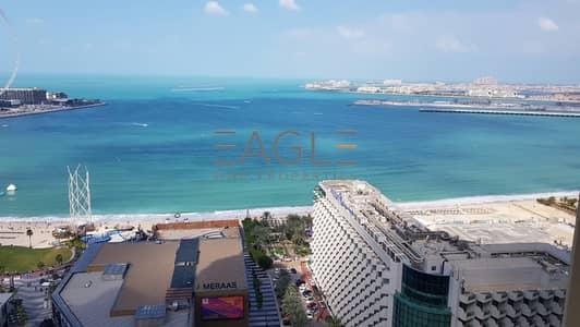 فلیٹ 2 غرفة نوم للبيع في جميرا بيتش ريزيدنس، دبي - Amazing 2 BR in JBR | Full Sea View | Tenanted Unit