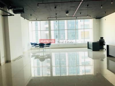 مکتب  للايجار في الخليج التجاري، دبي - Semi Furnished with Burj Khalifa and Lake View for Rent in Clover Bay