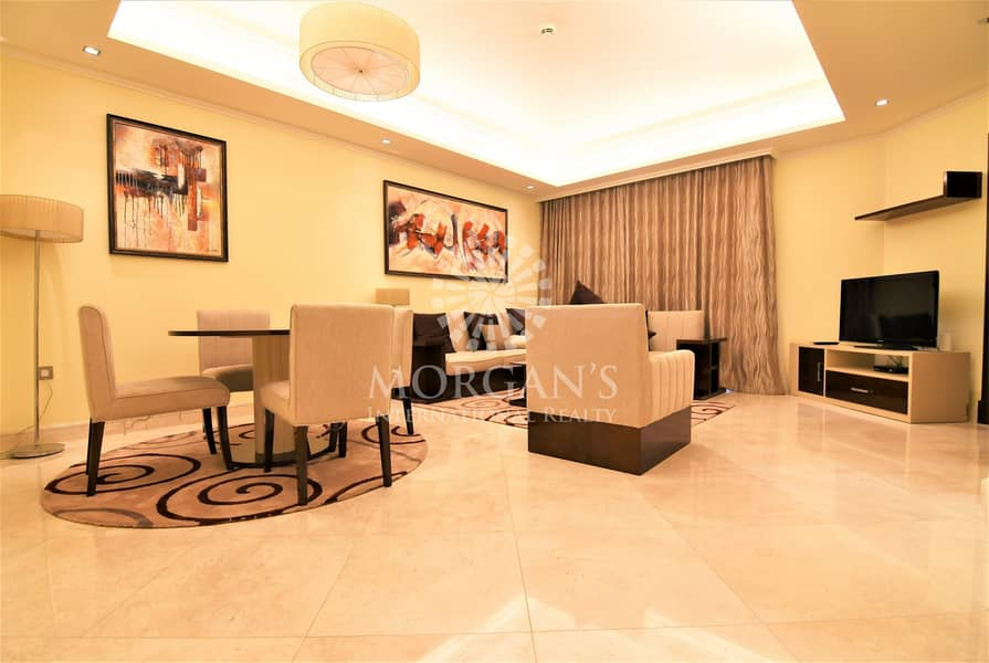 Fully Furnished | Brand New | Luxurious 1BR+M