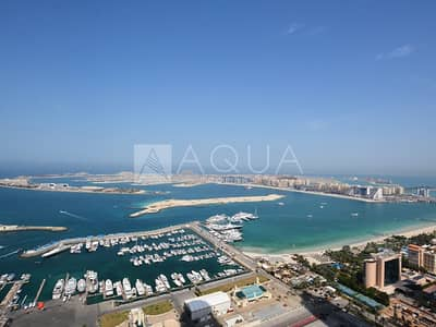 1 Bedroom Flat for Rent in Dubai Marina, Dubai - High Floor | Full Sea View | Large Layout