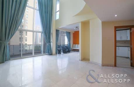شقة 3 غرف نوم للبيع في دبي مارينا، دبي - Duplex | 3 Bedroom + Maids Room | Vacant