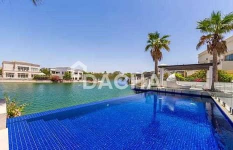 فیلا 7 غرف نوم للبيع في تلال الإمارات، دبي - Stunning 7 Bed / Lake views / Modern Outlook