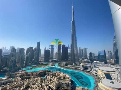 فلیٹ 1 غرفة نوم للبيع في وسط مدينة دبي، دبي - Full Burj Khalifa & Fountain Views | Real Listing