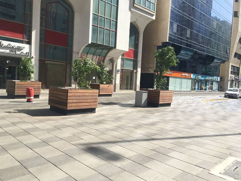 55 Square Metre Shop Available / Prime Location in Khalifa Street