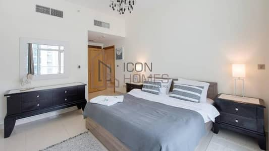 1 Bedroom Flat for Rent in Dubai Marina, Dubai - BEAUTIFUL FULLY FURNISHED 1 BEDROOM APARTMENT WITH BALCONY