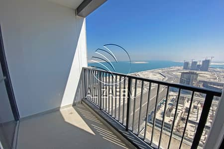 2 Bedroom Apartment for Rent in Al Reem Island, Abu Dhabi - Brand New 2BR with Nice Sea View