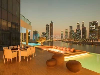 3 Bedroom Apartment for Sale in Business Bay, Dubai - Volante Privacy of Posh and Exclusive life Style