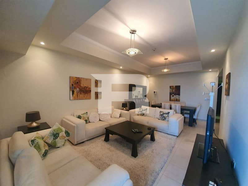 2 Elegantly Furnished and  Upgraded to 3Br
