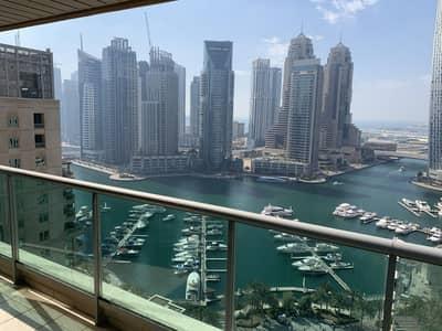 فلیٹ 2 غرفة نوم للايجار في دبي مارينا، دبي - 2BR+Study I Amazing Marina View