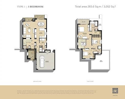 9 Single Row   3 Beds + Maid's   New Build
