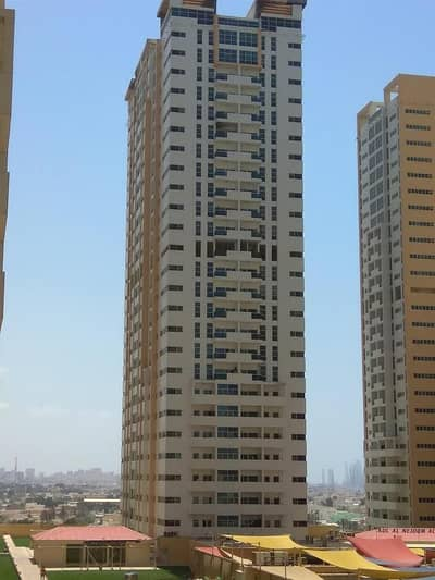 PARTIAL SEA VIEW Studio  Ajman One Towers 16000