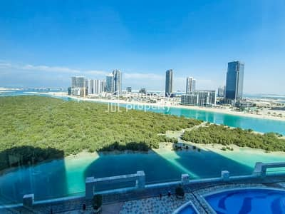 2 Bedroom Apartment for Sale in Al Reem Island, Abu Dhabi - Mangrove View I Huge Layout I Vacant on Transfer