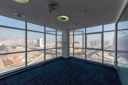 مکتب  للايجار في محيصنة، دبي - Office Fitted Space | Chiller free|2 months free