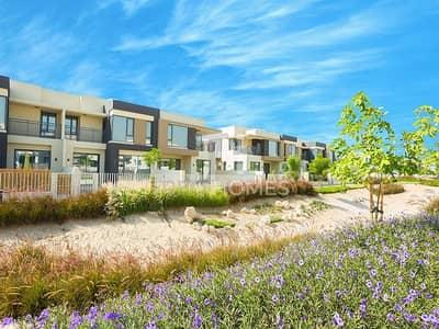 4 Bedroom Townhouse for Sale in Dubai Hills Estate, Dubai - On The Green Belt | Single Row | Type 3M