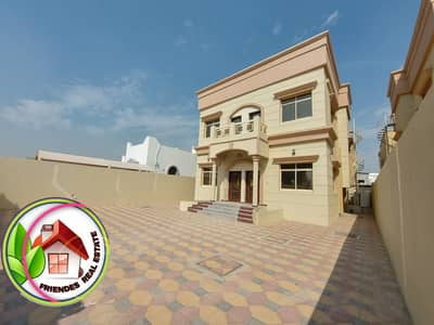 5 Bedroom Villa for Sale in Al Rawda, Ajman - Villa for sale, super lux finishing, freehold for all nationalities, and a very excellent location with banking assistance, close to all services