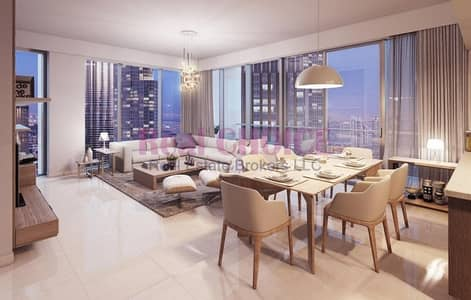 شقة 3 غرف نوم للبيع في وسط مدينة دبي، دبي - 3 Beds | Dubai Opera View | High Floor Unit