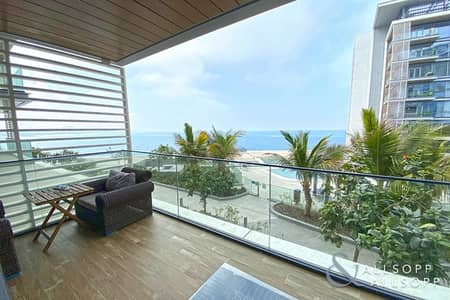 2 Bedroom Apartment for Sale in Bluewaters Island, Dubai - Full Sea Views | 2 Beds + Maids | Balcony