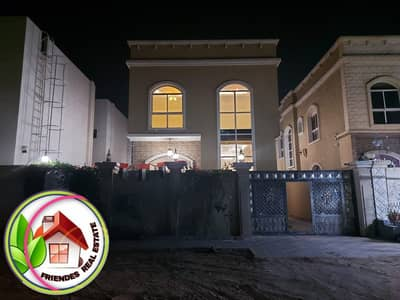5 Bedroom Villa for Sale in Al Rawda, Ajman - Villa for sale with full specifications, with electricity and water, very elegant finishing, consisting of two floors, directly from the owner, at a very attractive price
