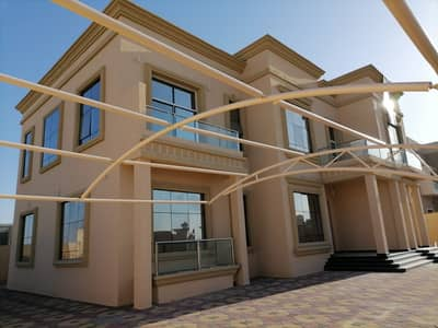 5 Bedroom Villa for Sale in Hoshi, Sharjah - For sale a new villa, the first resident of the Hoshi area, Sharjah
