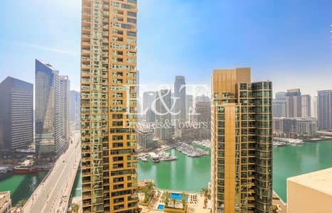 2 Bedroom Flat for Sale in Jumeirah Beach Residence (JBR), Dubai - Exclusive|Marina view |Immaculate Condition |2 BR