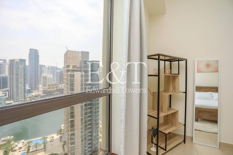 12 Exclusive|Marina view |Immaculate Condition |2 BR