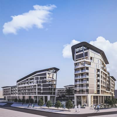 2 Bedroom Apartment for Sale in Masdar City, Abu Dhabi - Al Mahra Residence with 0%  Down Payment