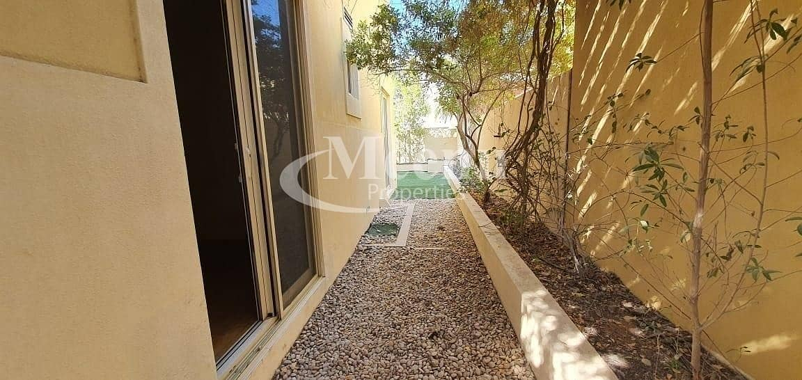 13 Currently Vacant | Extremely Attractive 3 Bedroom Villa | Huge Garden  | 1 Payment