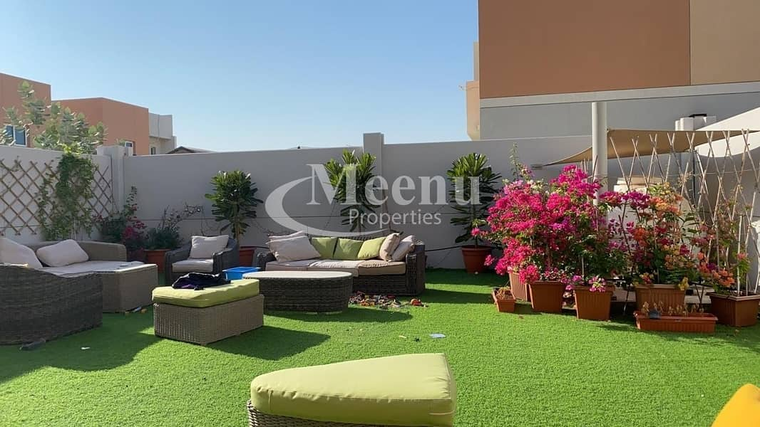 2 Soon to be vacant Huge and Mind-blowing 3 Bedroom Villa with Beautiful Garden