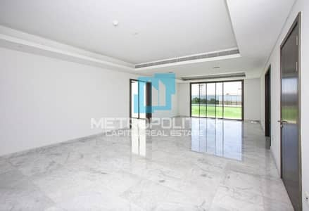 6 Bedroom Villa for Sale in Yas Island, Abu Dhabi - Type 6F  Single Row| Golf Course View| Large Plot