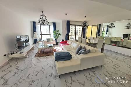 شقة 3 غرف نوم للبيع في جميرا بيتش ريزيدنس، دبي - 3 Beds + Maid | Upgraded | Sea + Palm View