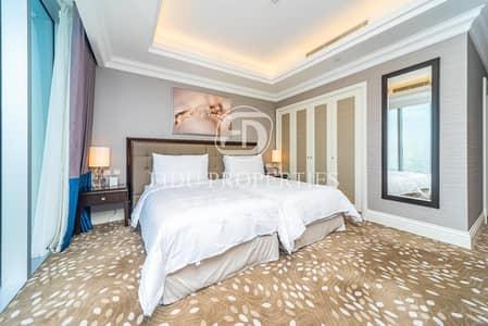 شقة 3 غرف نوم للبيع في وسط مدينة دبي، دبي - Serviced and Furnished Apartment On High Floor