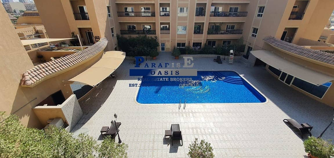 2 VACANT I FULL POOL VIEW I TWO BALCONIES