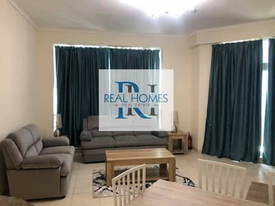 2 Bedroom Apartment for Rent in Dubai Marina, Dubai - Fully Furnished 2 Bedroom with Laundry! Higher Floor! Partial Sea View! MontHly  9500