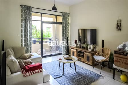 2 Bedroom Apartment for Rent in The Greens, Dubai - Popular Ground Floor Unit | Spacious 2 bed + Study