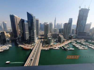 فلیٹ 3 غرف نوم للايجار في دبي مارينا، دبي - Chiller  free