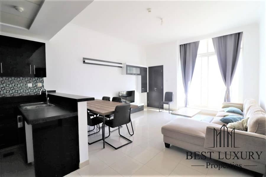 Partial Marina View   Furnished   High Floor