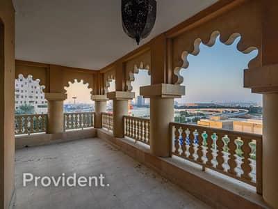 فلیٹ 3 غرف نوم للايجار في دبي فيستيفال سيتي، دبي - Massive 3B/R+M Condo Hillside DFC