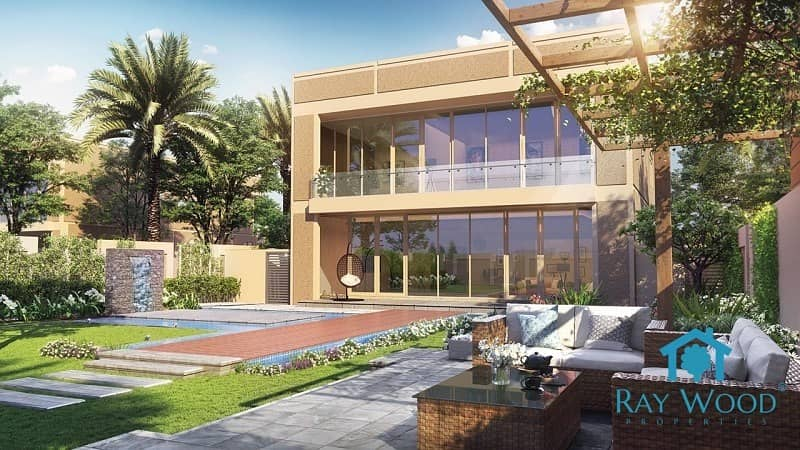 1 5 & 6 Bedrooms New Villas at the heart of Dubai