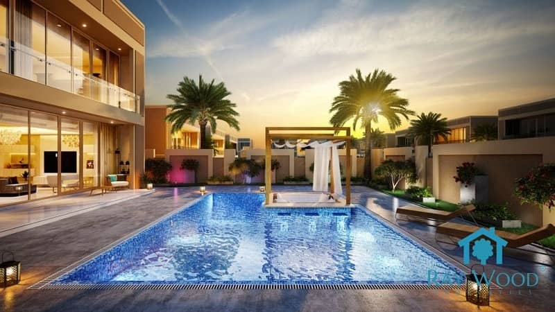 2 5 & 6 Bedrooms New Villas at the heart of Dubai