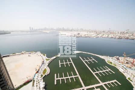 3 Bedroom Flat for Rent in The Lagoons, Dubai - Creek Water View   Large Unit   High Floor
