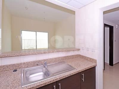 1 Bedroom Apartment for Rent in Dubai Production City (IMPZ), Dubai - HIGH FLOOR  TWO PARKING   BALCONY  UNFURNISHED