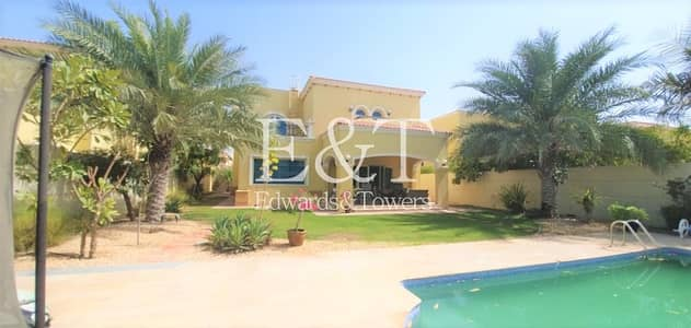 4 Bedroom Villa for Rent in Jumeirah Park, Dubai - Available May W/ Maintenance Contract Well Kept JP
