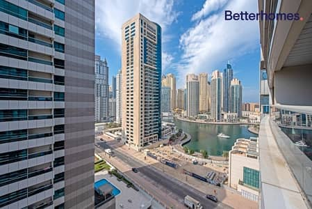 1 Bedroom Apartment for Rent in Dubai Marina, Dubai - Partial Marina View | Unfurnished | Vacant
