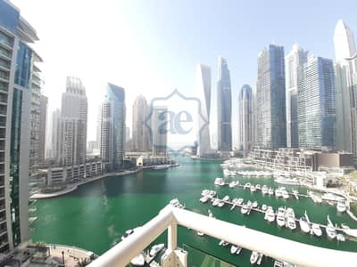 2 Bedroom Apartment for Rent in Dubai Marina, Dubai - Full Marina View|Near Metro|2BR  APT| Chiller Free