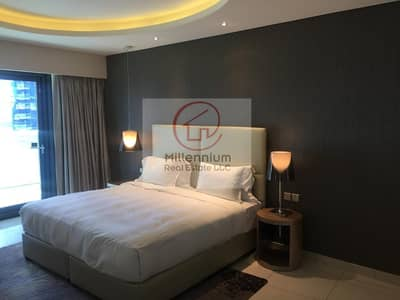 1 Bedroom Hotel Apartment for Rent in Business Bay, Dubai - 1 Bedroom for Rent |DAMAC Towers by Paramount Hotels and Resorts | Business Bay