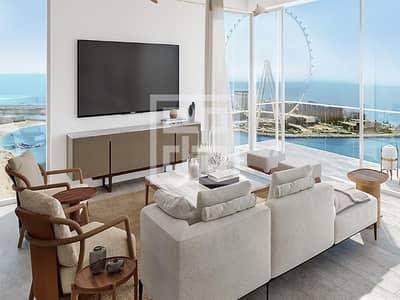 3 Bedroom Apartment for Sale in Jumeirah Beach Residence (JBR), Dubai - Full Sea View& Dubai Eye | Resale 3BR | Payment Plan